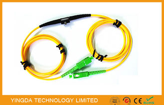 ประเทศจีน Adjustable SC FC LC MU Fixed In - line Fiber Optic Attenuator SM 1Meter Range 1 ~ 40dB โรงงาน
